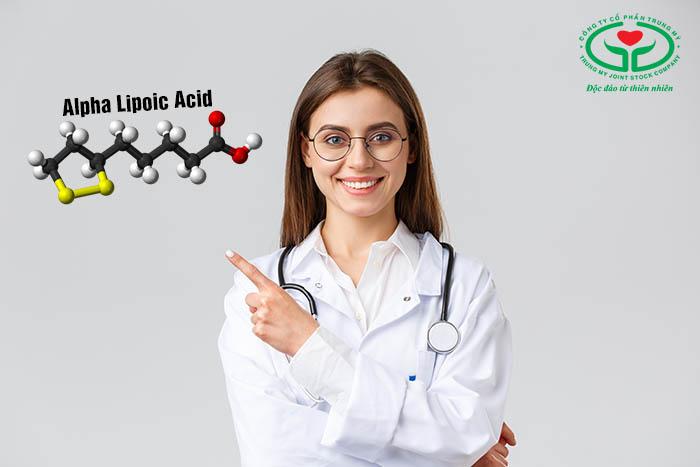 Khi mắt bị cườm đá người bệnh nên bổ sung chất chống oxy hóa Alpha lipoic acid